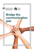 Image of Bridge the Communciation Gap Brochure