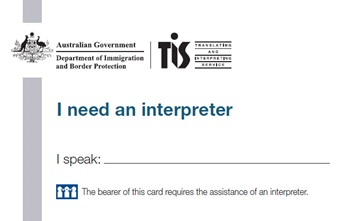 TIS National Interpreter card image